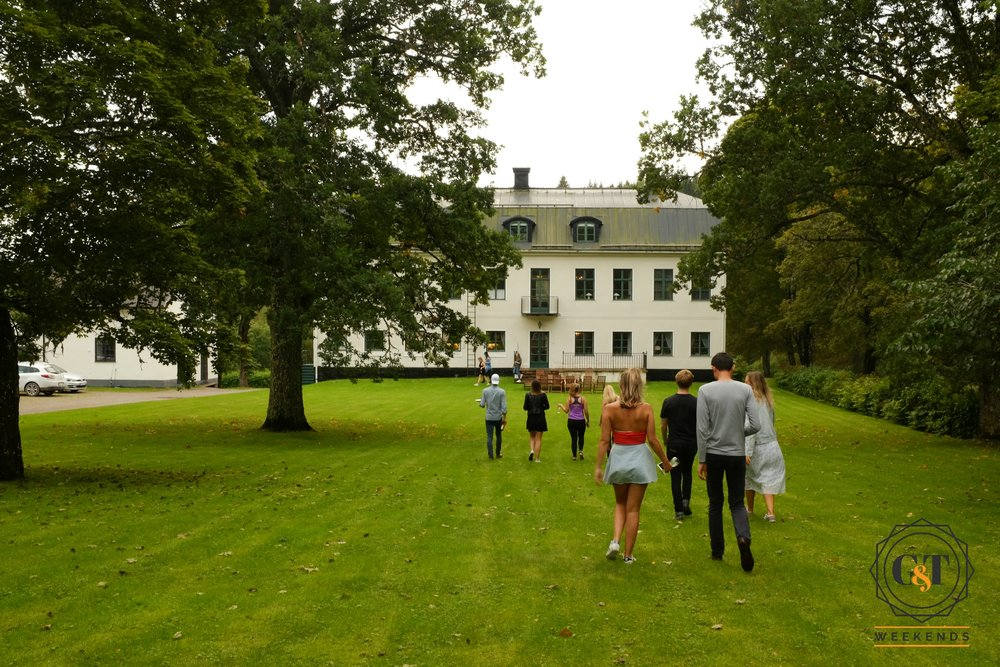 Lakehouse mansion in the Swedish countryside. Perfect for a luxury weekend away