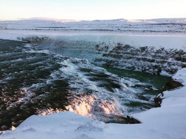 gullfoss waterfall iceland golden circle