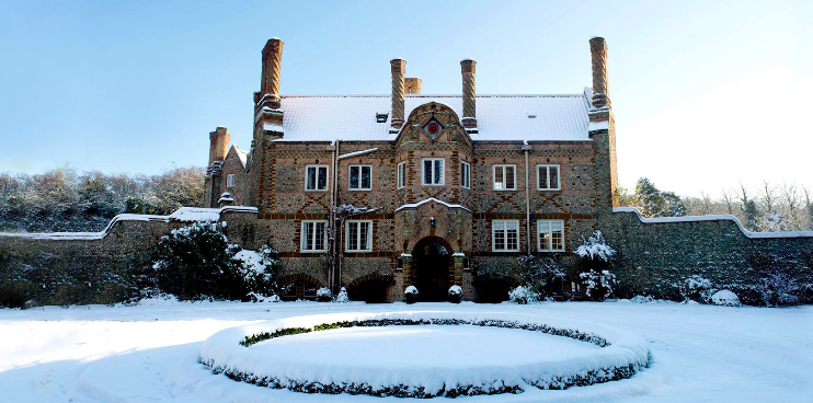 Christmas in a Norfolk Mansion