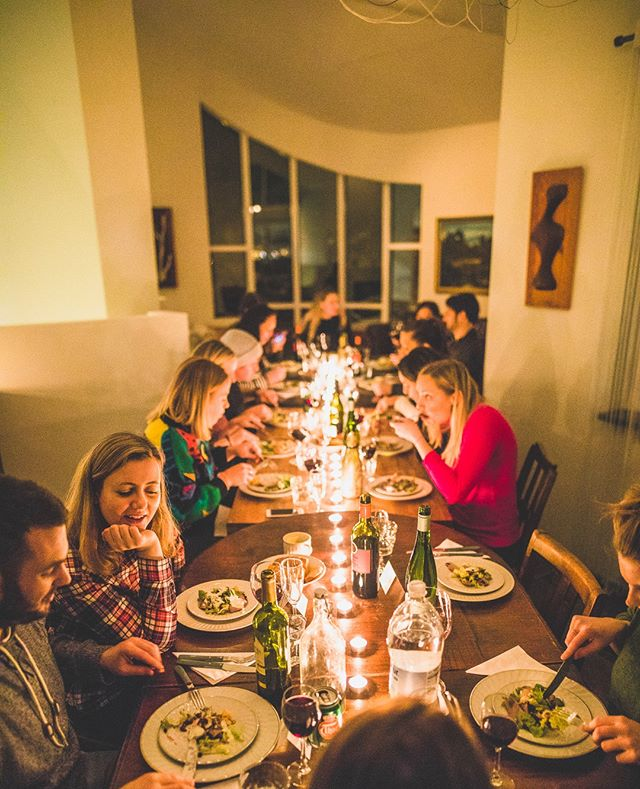 This New Years we'll enjoy seven special communal meals cooked at home by a local rockstar chef in our luxury renovated farmhouse, all included in the cost of your trip of course along with all alcohol! NEW YEARS IN AN ICELANDIC LODGE • 29 Dec to 1 Jan • 4 x instalments of £266 or £1064, bookings and more itinerary details via the site! #gtwknds . . . . #thisisiceland #iceland #newyears #hotsprings #snowyscene #icelandnewyears #reykjavik #icelandtrip #newyears #newyearholiday #icelandtravel #visiticeland #icelandsnow #exploremore #traveldeeper #travellers #cntraveler #bbctravel #fodorsonthego #icelandic #inspiredbyiceland #everydayiceland #exploreiceland #wheniniceland #igersiceland #travelworld #traveliceland #passportready #instago
