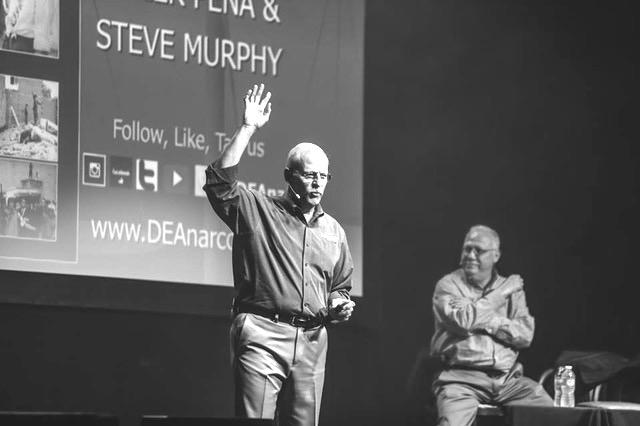 Steve and Javier onstage black and white.jpg