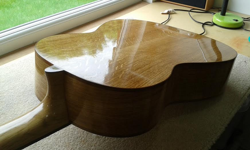 after french polishing