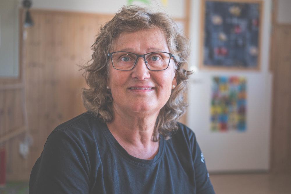 Agneta Enerhall, förskolechef och pedagog vid förskolan Svalan i Åbyggeby, Ockelbo FOTO: Henrik Westberg, KUXAGRUPPEN AB