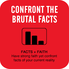 Confront the brutal facts about your business