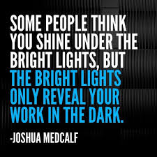 Joshua Medcalf quote