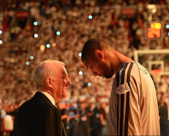 Tim Duncan and Gregg Popovich, The Starter Log, Learn from a Leader