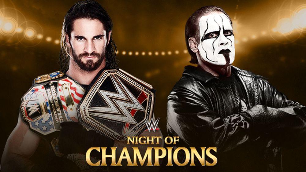 Sting vs Seth Rollins, NOC 2015