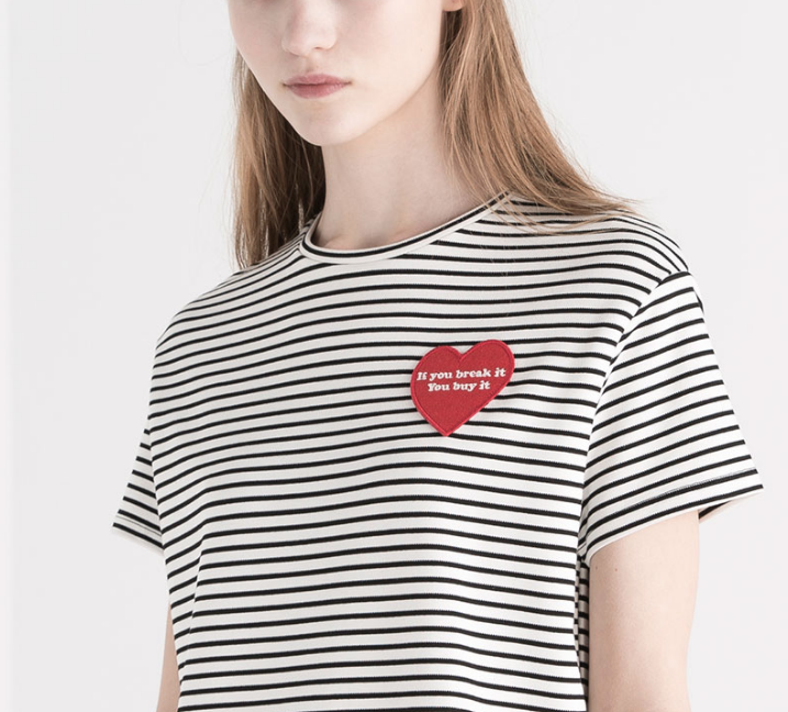 honeyidressedthepug-stripes-stripedtee-pullandbear-trend-trendalert-patch-patches-heart-blog-fashion-twinning-petfashion