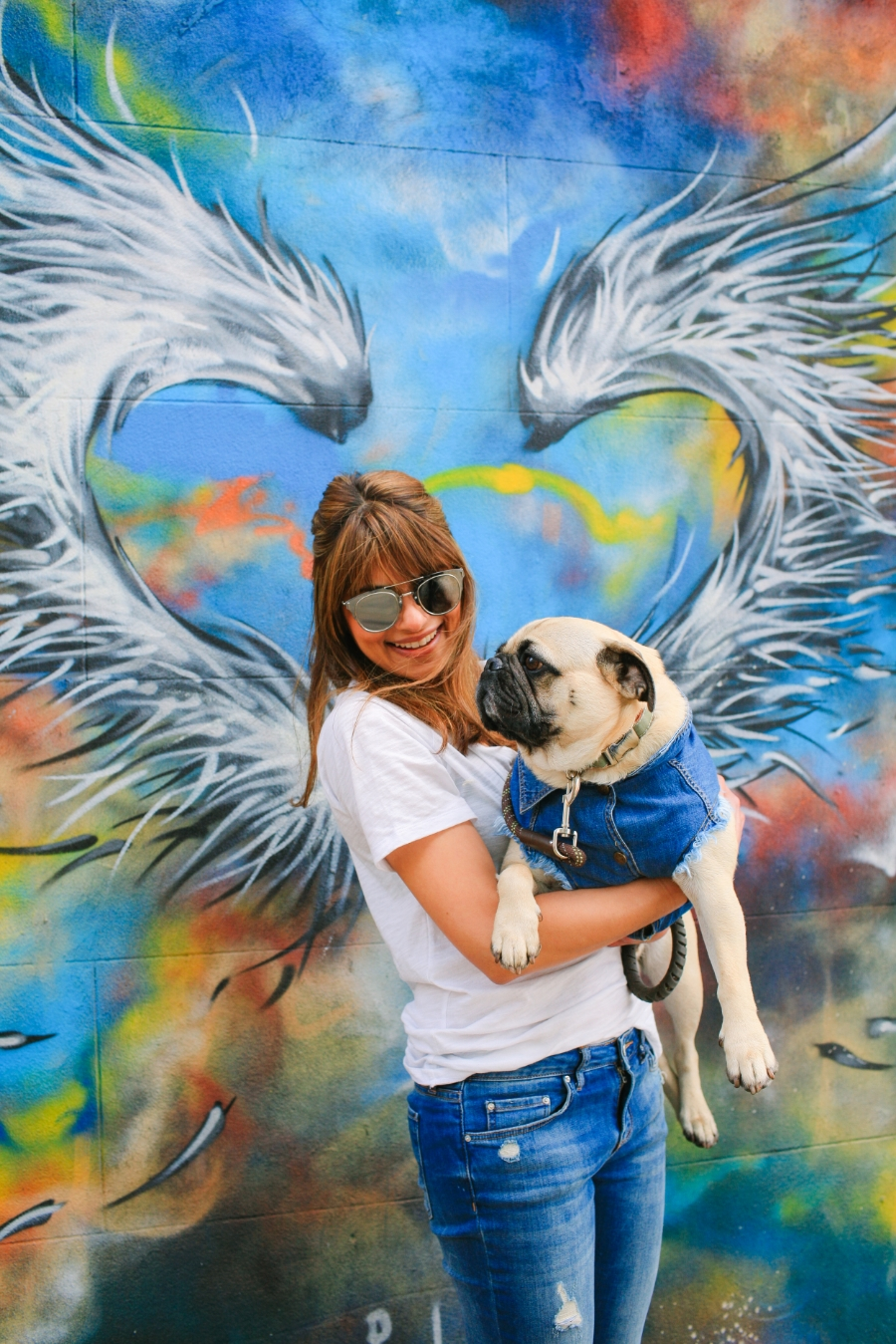 dogblog-petfashionblog-denim-pethaus-denimfordogs-streetart-london-humanandhound-coolpups-dogsinclothes-pugswag-honeyidressedthepug-shoreditch-