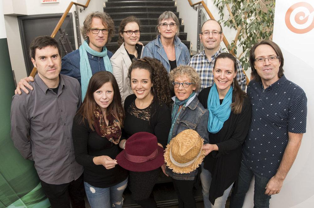 La Tribune 1er nov. 2017 Ariane DesLions : Finaliste au PRIX RELÈVE du Conseil de la culture de l'Estrie pour la 2e année consécutive, 2016-2017.