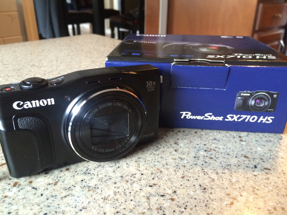 Canon PowerShot SX710 HS. Isn't she beautiful?