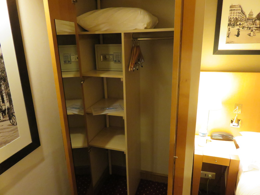 Best Western Premier Royal Saint Michel closet and safe