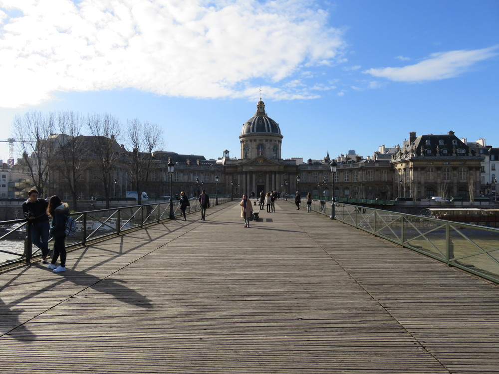 "Pont des Arts aka ""Love Lock"" Bridge"