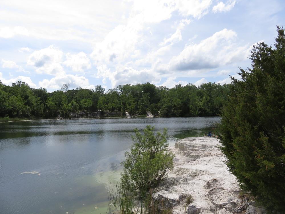 Klondike Park limestone quarry
