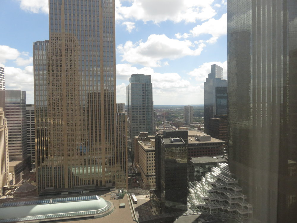 Minneapolis Marriott city view