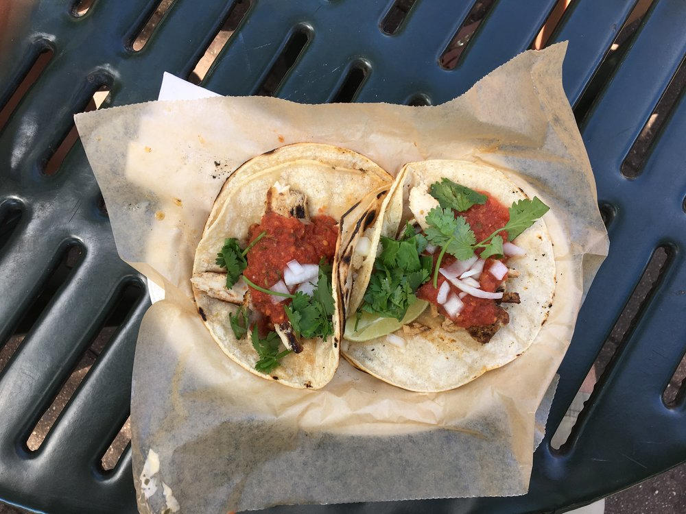 Sea Salt's grilled ma-hi tacos