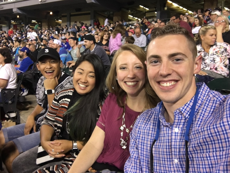 Selfie at the Sox game!