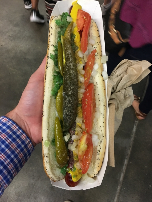 Footlong Comiskey Dog