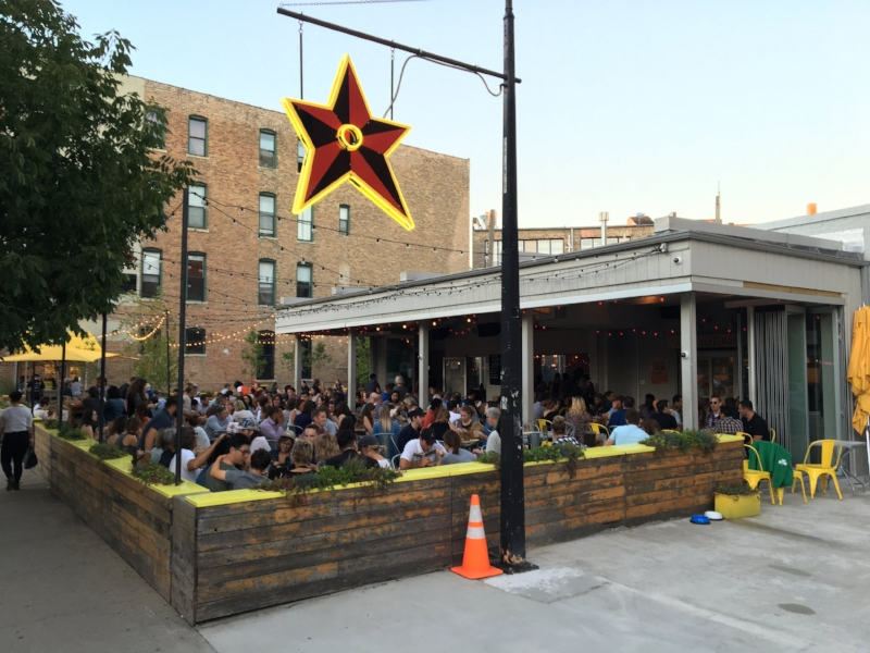 Packed house at Big Star.