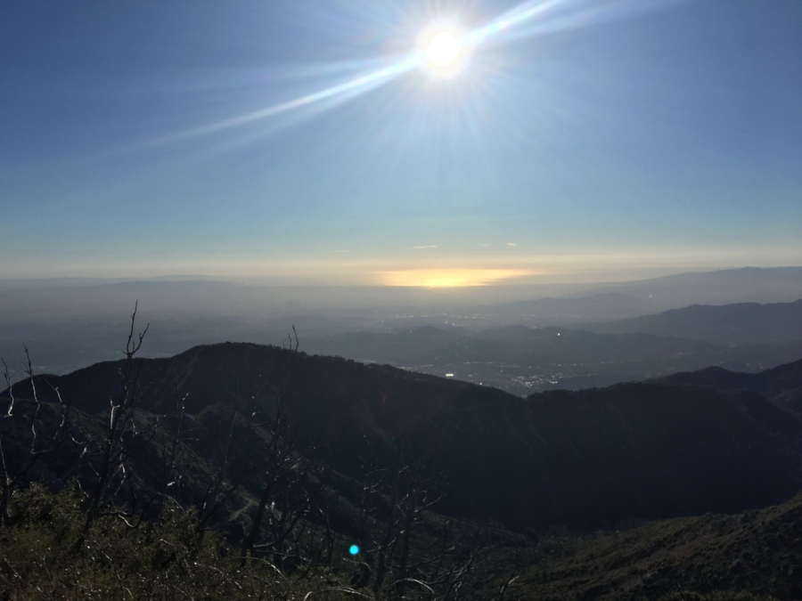 Views from the top of San Gabriel