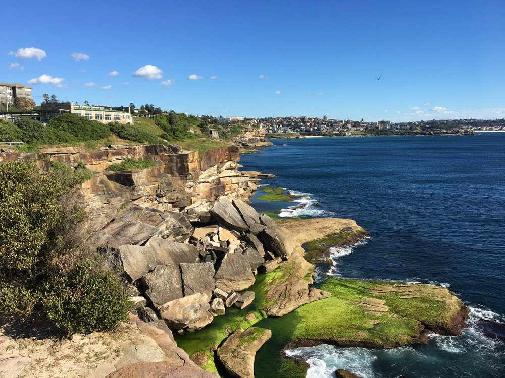 Australian coastal walk
