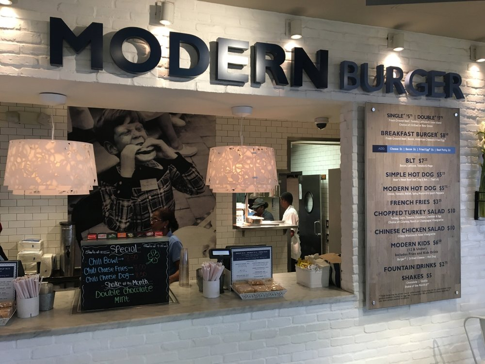 Modern Burger at Phoenix Sky Harbor