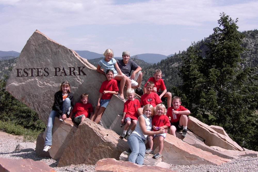 THE LAST TIME WE WENT TO ESTES PARK, COLORADO. CAN YOU FIND ME?