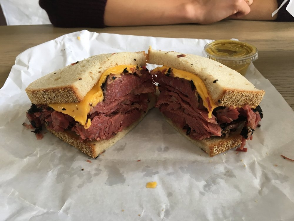 katz's delicatessen, new york city