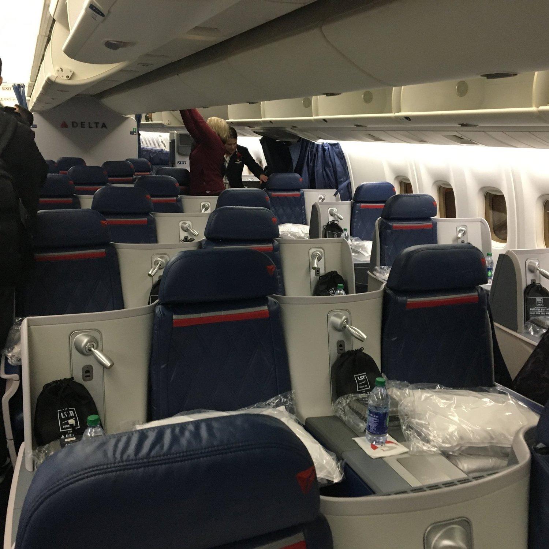 Review: Delta One 767 Minneapolis to London Heathrow — Passenger
