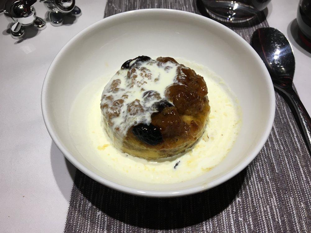 VIRGIN ATLANTIC UPPER CLASS dessert