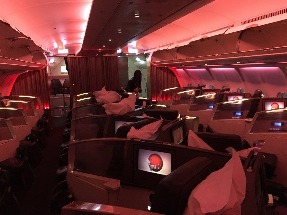 Review: Virgin Atlantic Upper Class A330 London Heathrow to