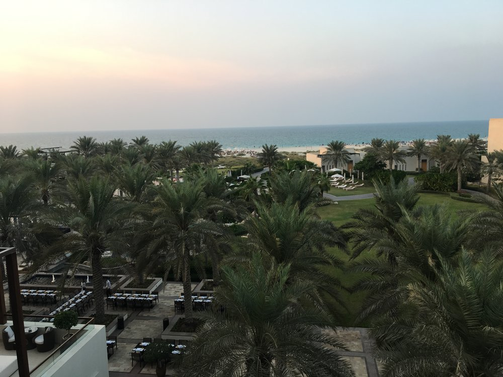 PARK HYATT ABU DHABI sea view king room