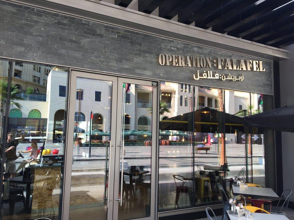 operation: falafel, Dubai