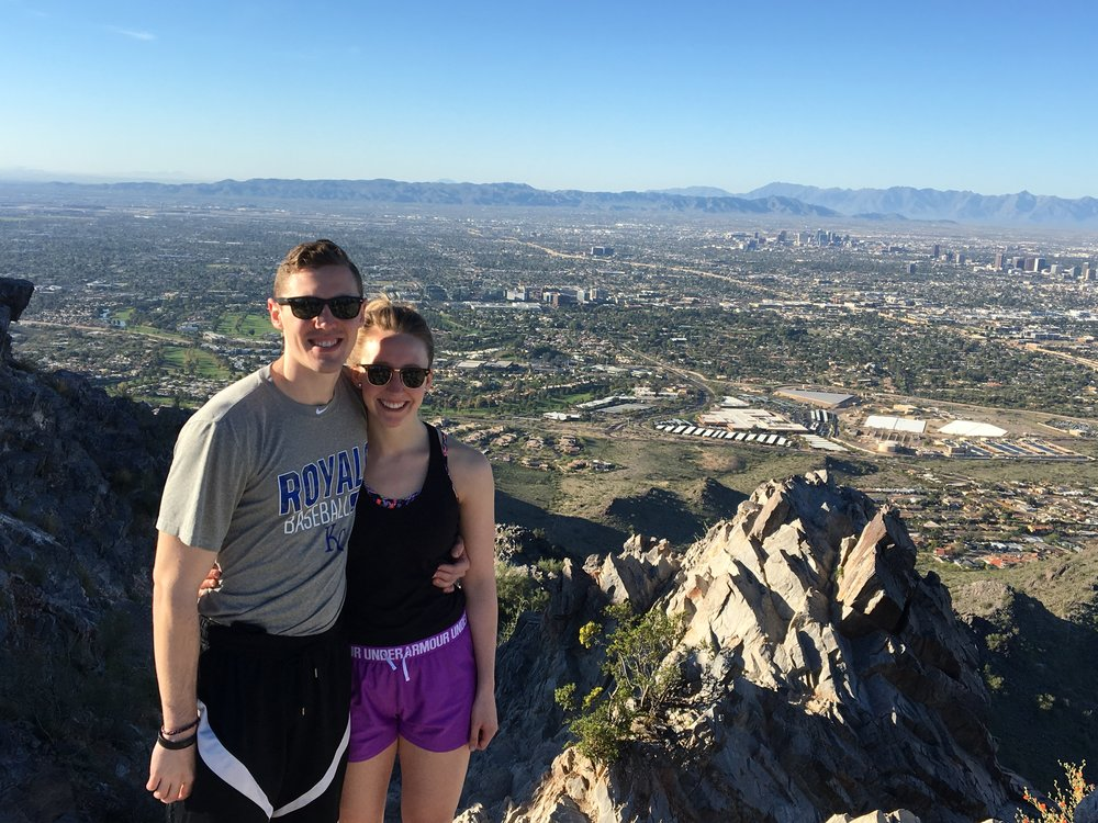 AT THE SUMMIT OF PIESTEWA PEAK