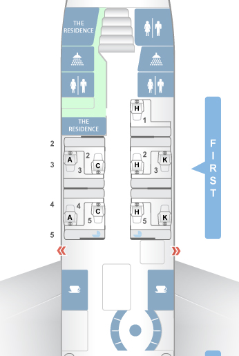 ETIHAD A380 SEAT MAP