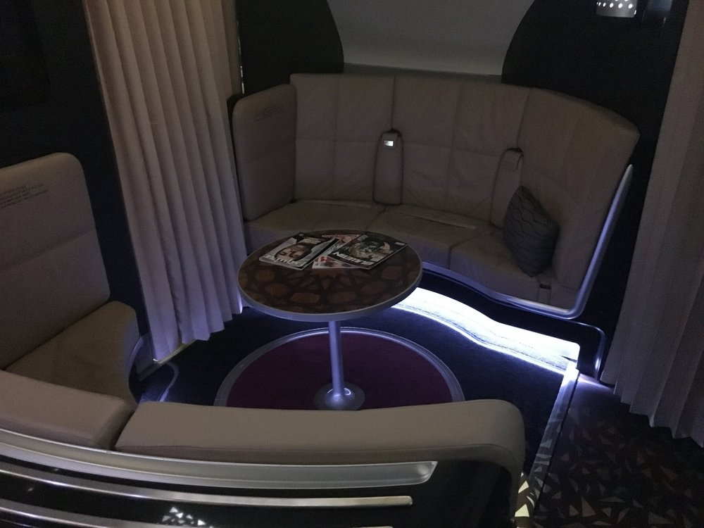 ETIHAD A380 LOBBY