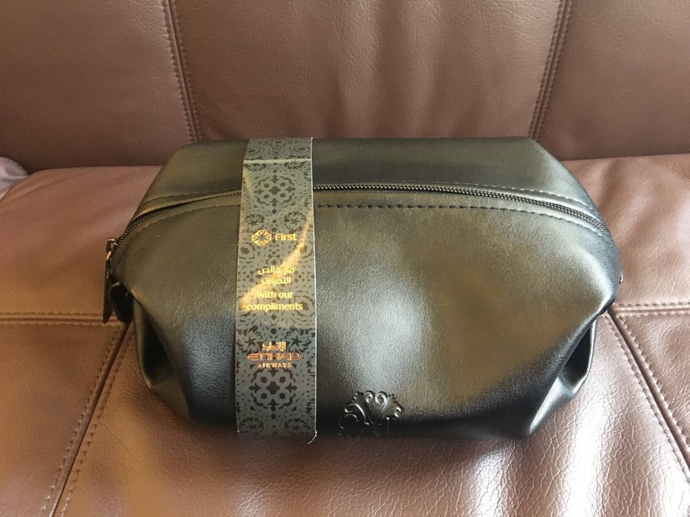 ETIHAD A380 FIRST CLASS APARTMENT AMENITY KIT