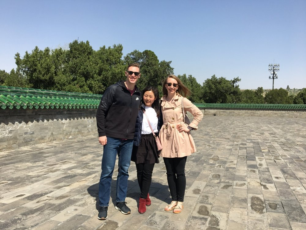 WITH THE HELP OF OUR TOUR GUIDE, SUMMER, WE WERE ABLE TO NAVIGATE BEIJING