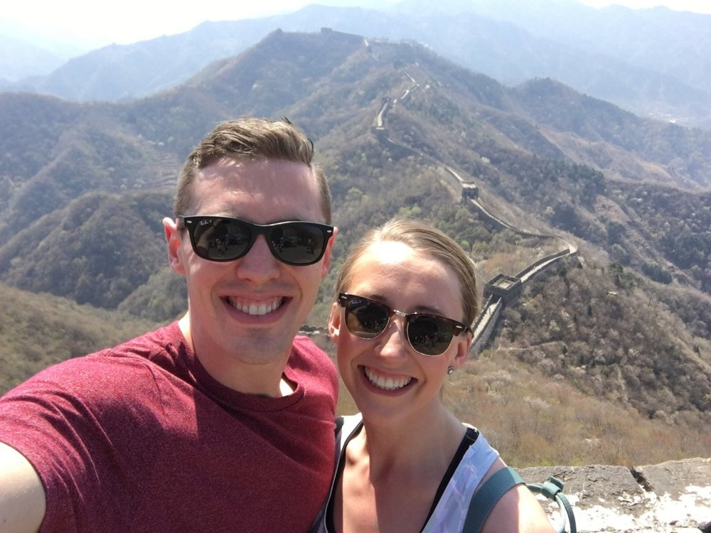 GREAT WALL SELFIE