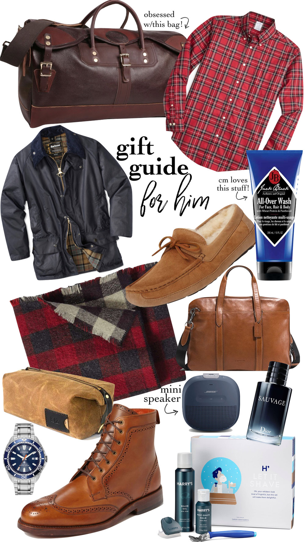 GIFT GUIDE FOR HIM -