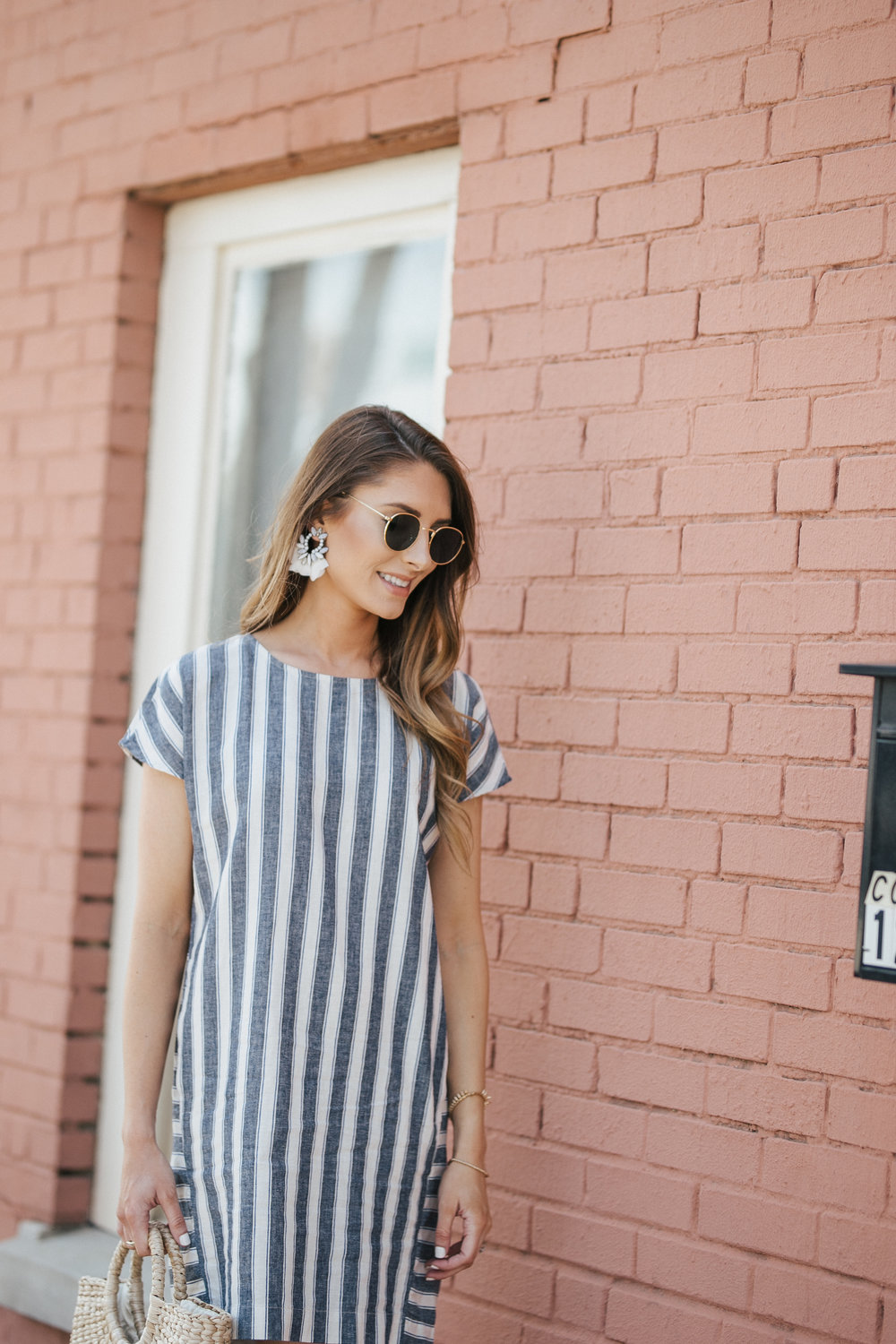 Striped Madewell Dress
