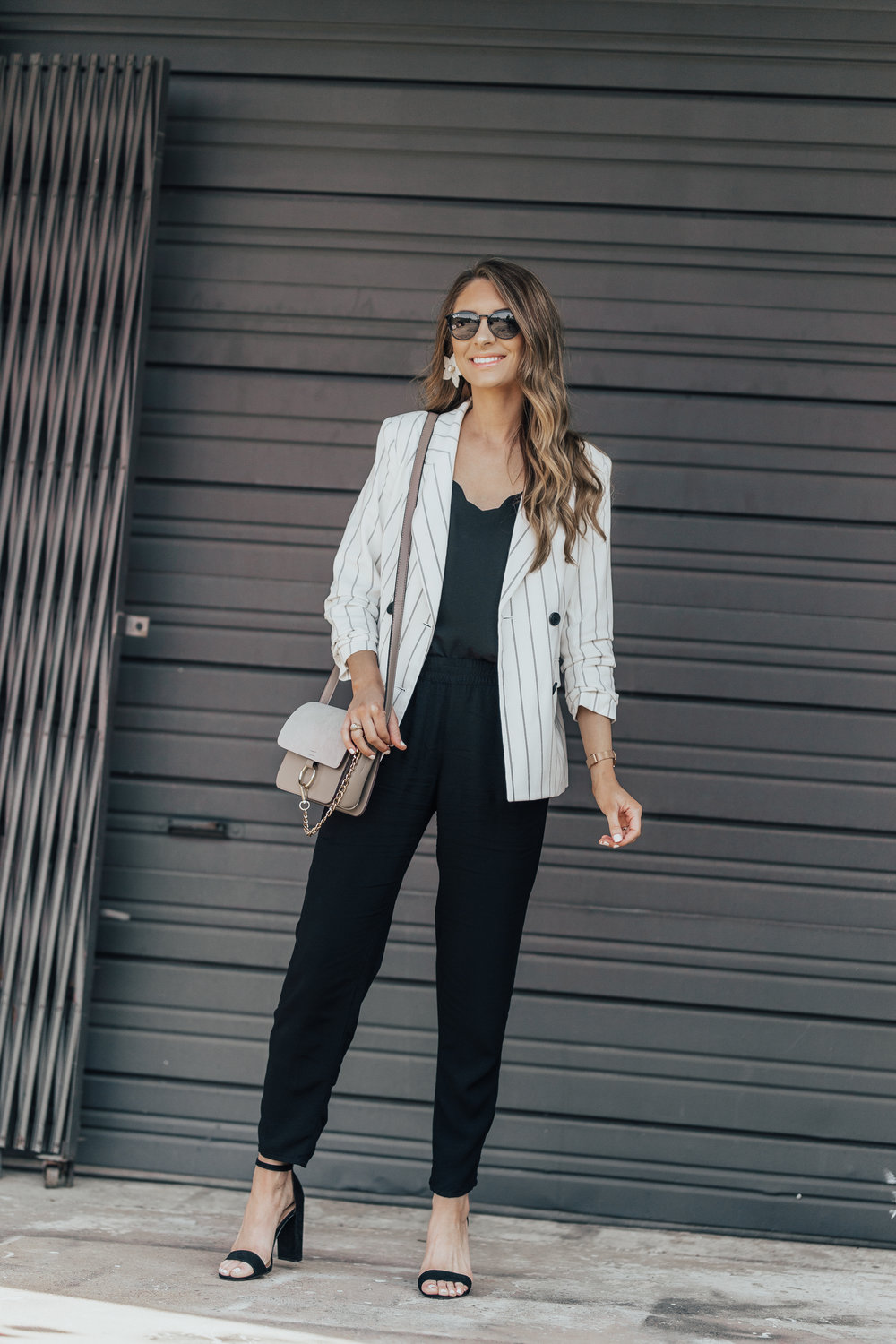 Black & White: Dressing Up Joggers