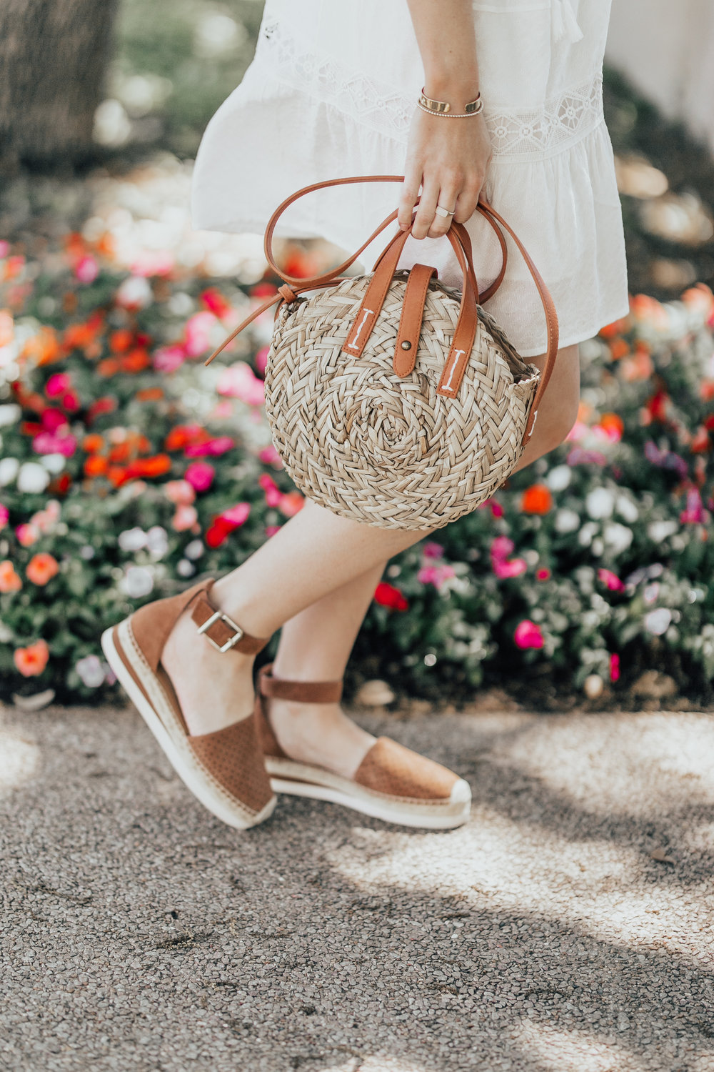 Straw Bag + Espadrilles