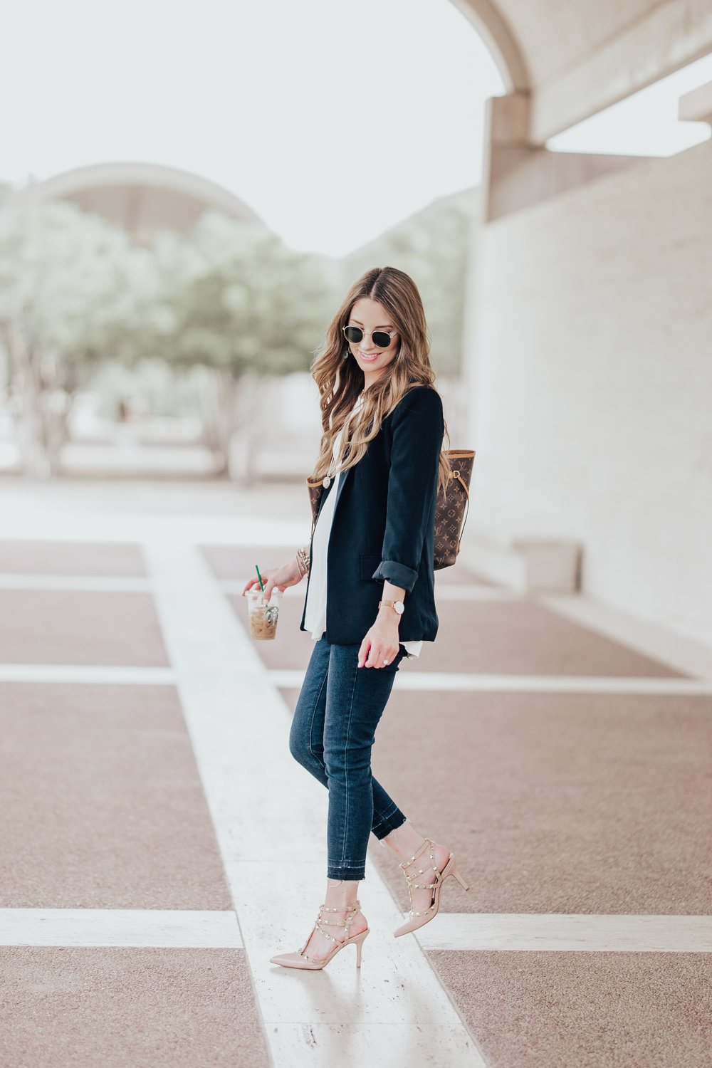 Blazer + Denim