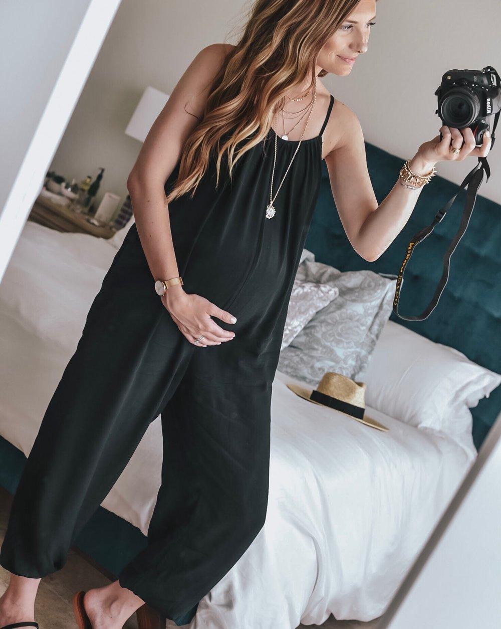 Black Jumpsuit - Bump Style - Maternity Style