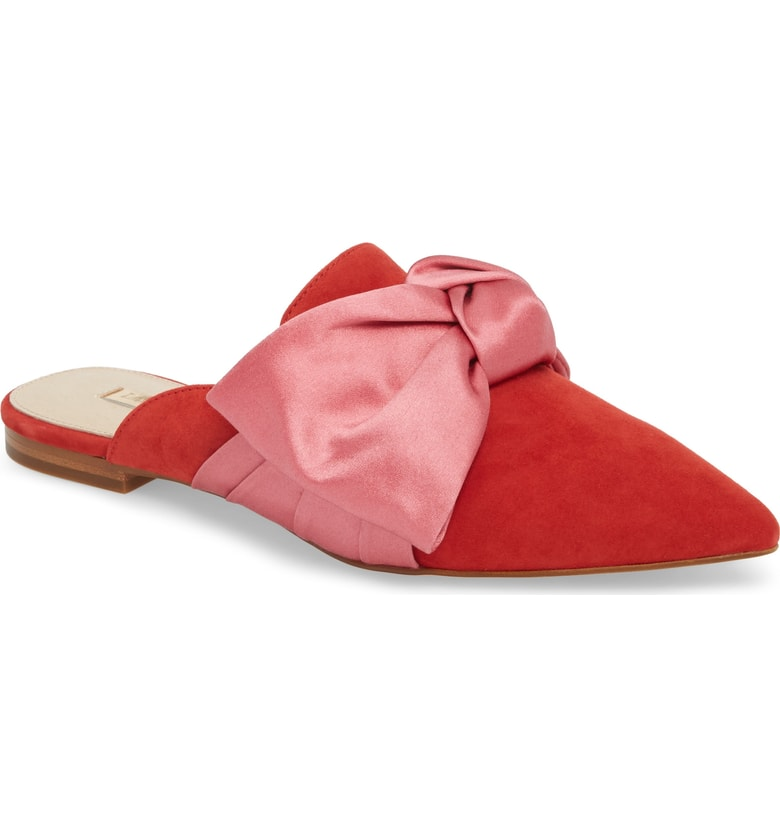Louise et Cie Cela Bow Slide  - SALE: $84.90 (after sale: $129.95)