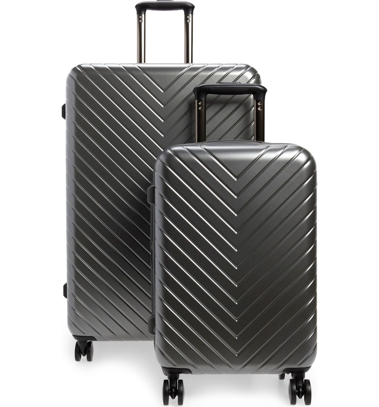 Nordstrom Chevron Spinner Luggage Set - SALE: $223.90 (after sale: $299)