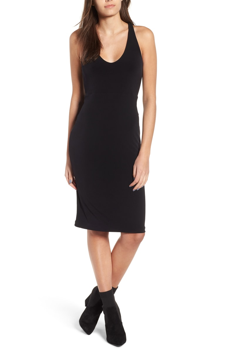 Leith Sleek Knit Midi Dress - SALE: $42.90 (after sale: $65)