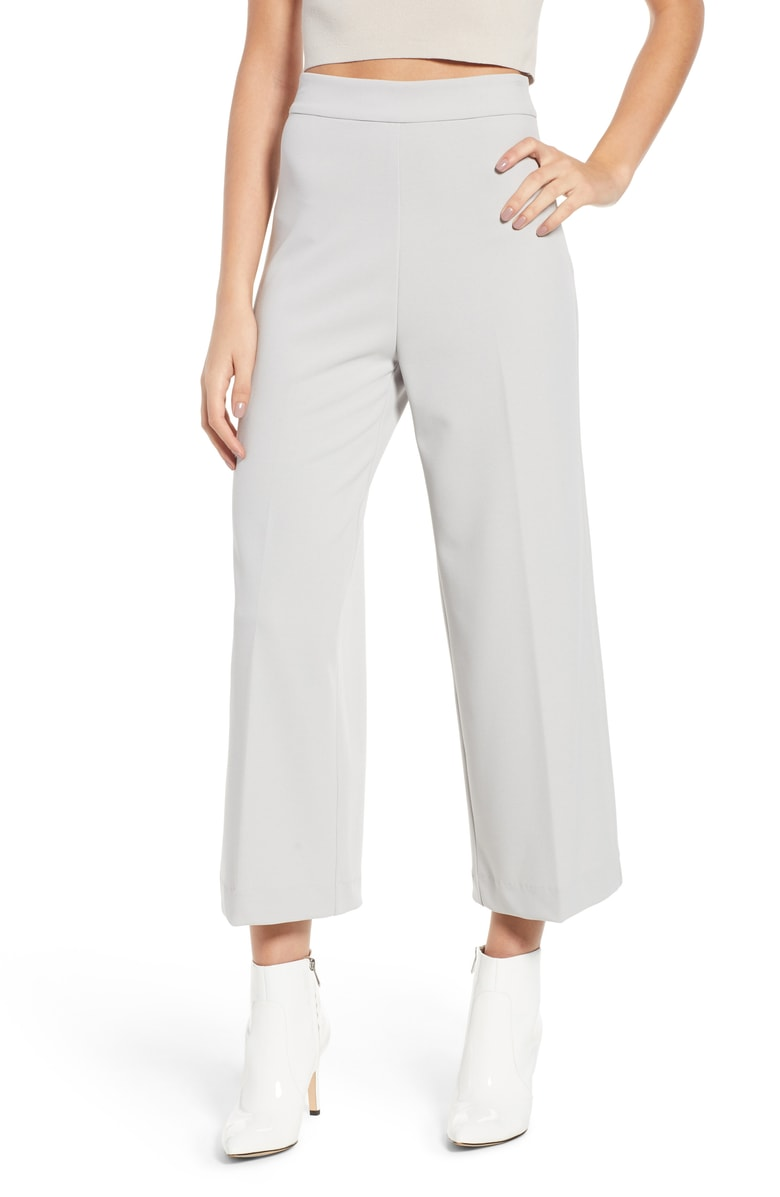 WAYF Wide Leg Trouser - SALE: $45.90 (after sale: $69)
