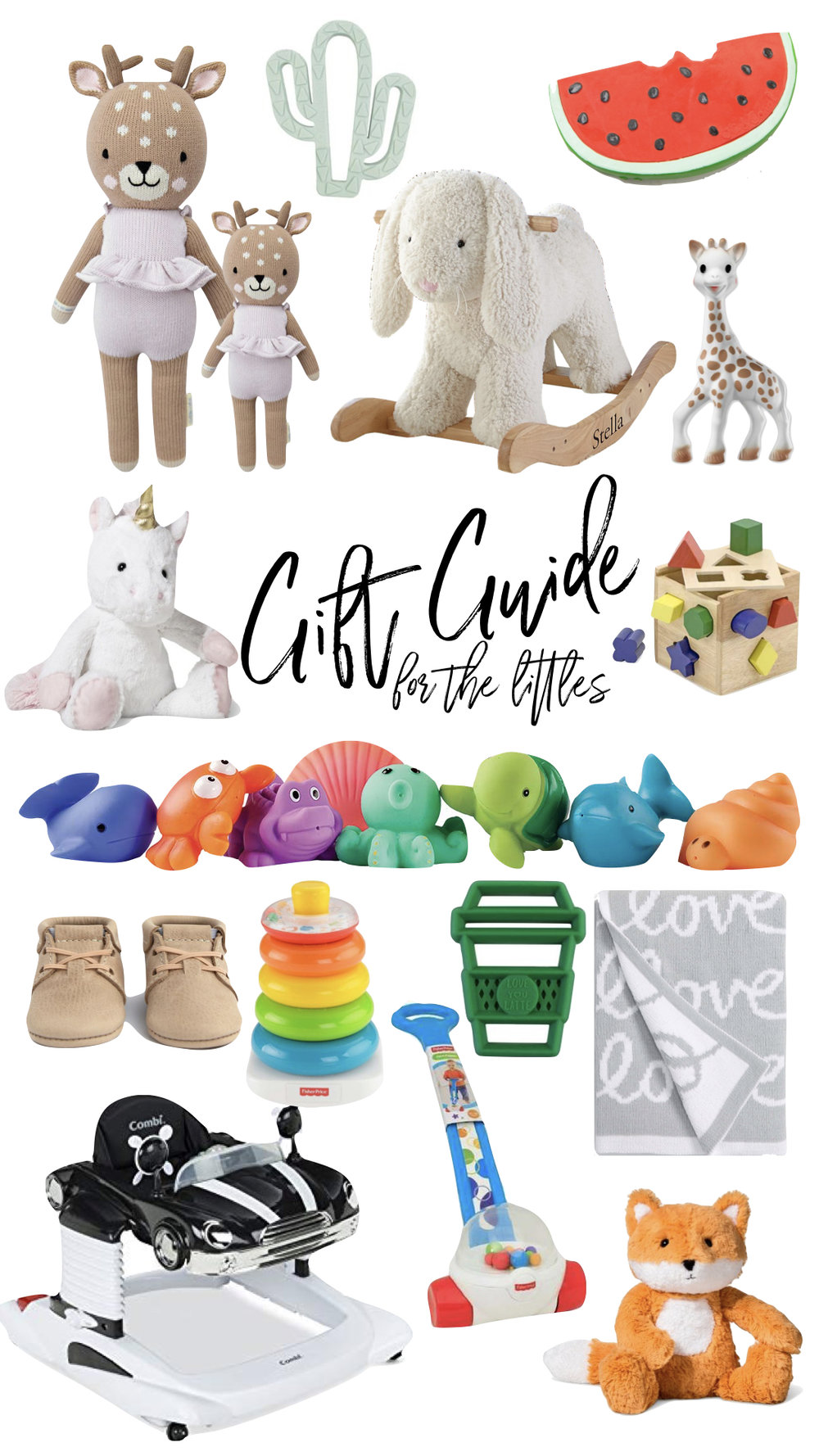 GIFT GUIDE: for baby -